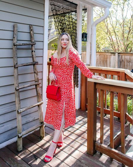 Feeling all cha-cha-cha today in this dress! 💃🏼 This dress is on sale for $11 and so flattering! Wearing a size small (bag is old but linked a similar one)! #liketkit @liketoknow.it http://liketk.it/3cOzI #LTKworkwear #LTKunder50 #LTKsalealert