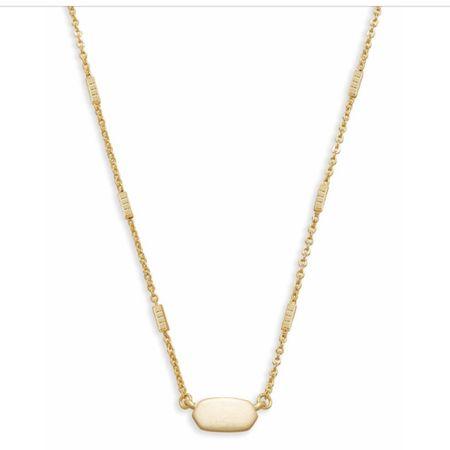 Gold dainty necklace http://liketk.it/3fRiY #liketkit @liketoknow.it