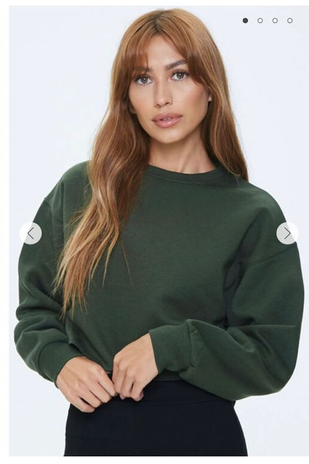 Cutest $20 cropped hoodie! http://liketk.it/3bi4D #liketkit @liketoknow.it #LTKSpringSale #LTKunder100 #LTKstyletip Shop your screenshot of this pic with the LIKEtoKNOW.it shopping app