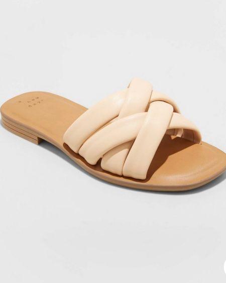 Padded Slide Sandal   http://liketk.it/3hZre    #liketkit @liketoknow.it
