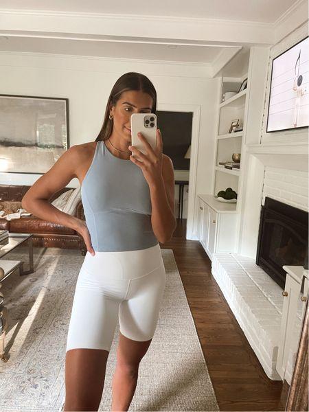 Lululemon align shorts and tank top   #LTKfit