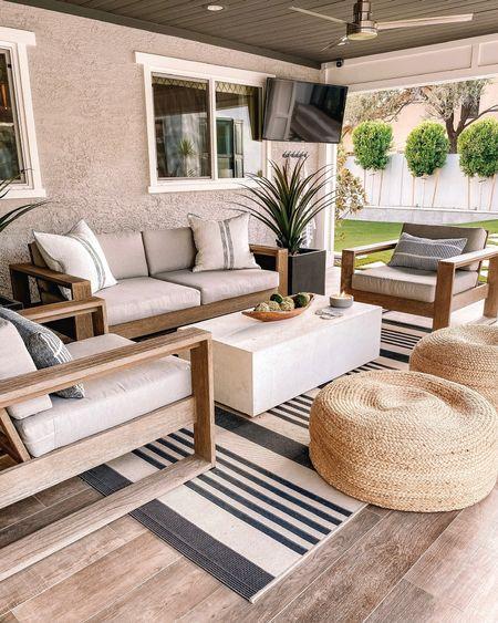 Home decor Patio furniture West elm  CB2    #LTKhome #LTKstyletip #LTKunder100