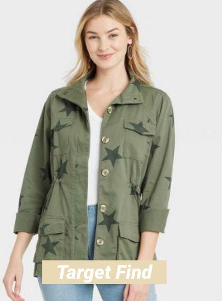 Army green jacket @Target under $40  #LTKstyletip #LTKunder50 #LTKunder100