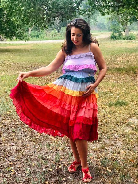 Rainbow ruffles steal my heart   #LTKstyletip #LTKwedding #LTKbump