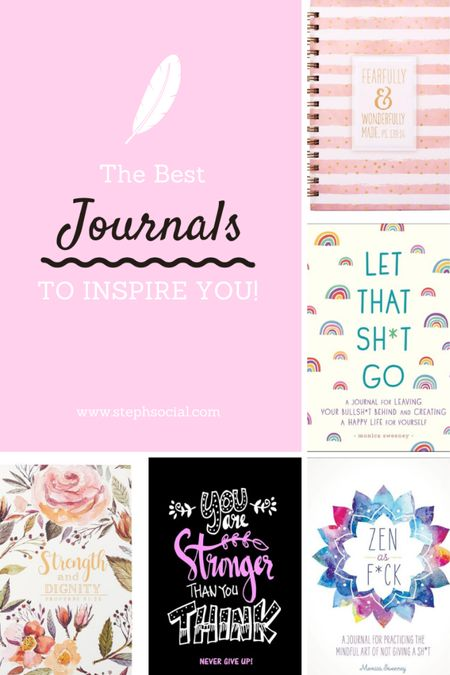 Journals for self care, personal development, career, health, travel and more!! Check them out! All UNDER $20!   #StayHomeWithLTK #LTKhome #LTKunder100