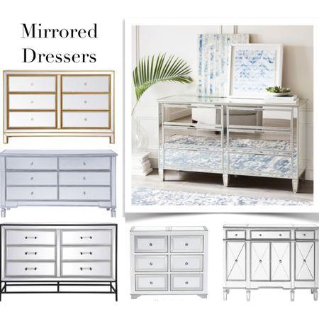 Mirrored dressers, bedroom furniture / http://liketk.it/3bvJW #liketkit @liketoknow.it    #LTKeurope #LTKbeauty #LTKstyletip