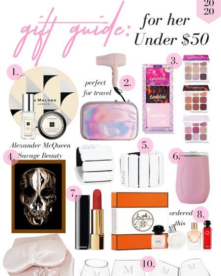 Gifts for her under $50 http://liketk.it/34els #LTKgiftspo #LTKbeauty #LTKunder50 #liketkit @liketoknow.it