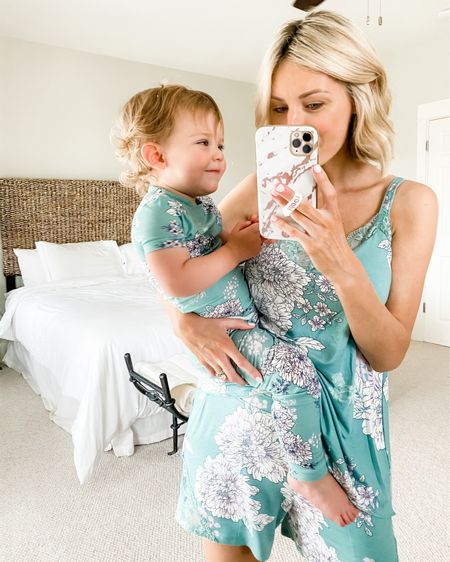 Matching mommy and me pajamas http://liketk.it/2Srmu @liketoknow.it #liketkit #cozy #mommyandme