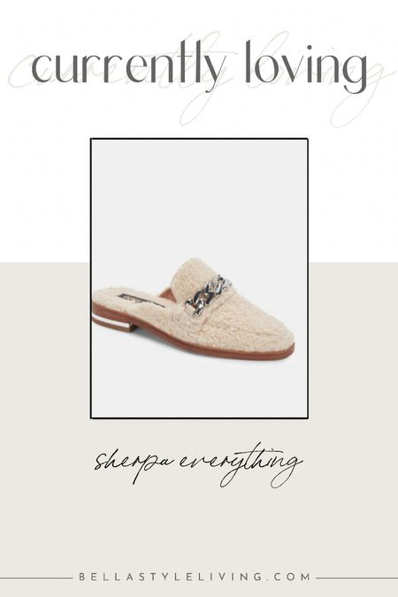 Sherpa loafer mules   #LTKshoecrush #LTKSeasonal #LTKworkwear