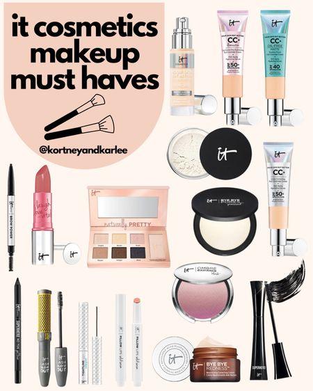 IT Cosmetics 30% off sale! Use the code: LIKEIT  It cosmetics sale | It cosmetics skincare | It cosmetics favorites | It cosmetics makeup | Kortney and Karlee | LTK Summer Sale | #kortneyandkarlee #LTKDay #LTKDay21 #LTKSummerSale #LTKunder50 #LTKunder100 #LTKsalealert #LTKhome #LTKstyletip #LTKSeasonal #LTKbeauty #LTKtravel @liketoknow.it #liketkit http://liketk.it/3hywk