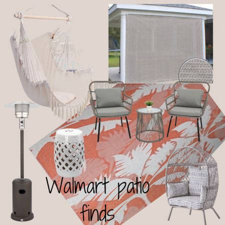 http://liketk.it/3hSEa #liketkit @liketoknow.it #LTKhome #LTKfamily #LTKstyletip #dealsfordays #walmartfinds #patiofinds  A neutral space with a pop of orange!  Relax for days in this gorgeous patio🙌🏼 Price ranges: $39-$260