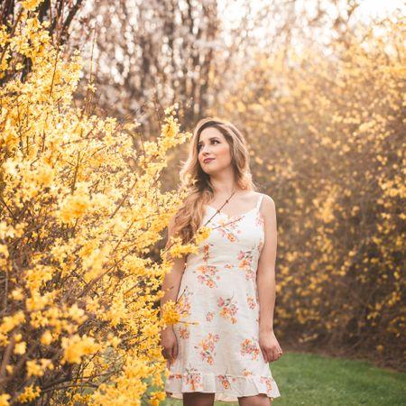 Spring Foral Dress #springwear #dress #floral  #LTKunder50 #LTKstyletip #LTKSeasonal