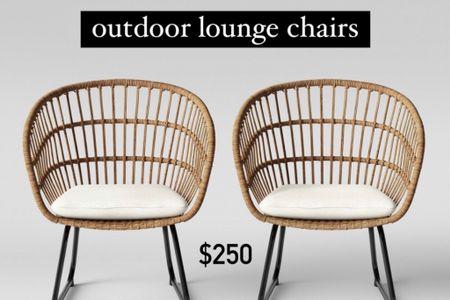 Outdoor patio / lounge chairs / boho    #LTKhome #StayHomeWithLTK #LTKSeasonal http://liketk.it/3gIrt #liketkit @liketoknow.it #LTKDay #LTKstyletip @liketoknow.it.home