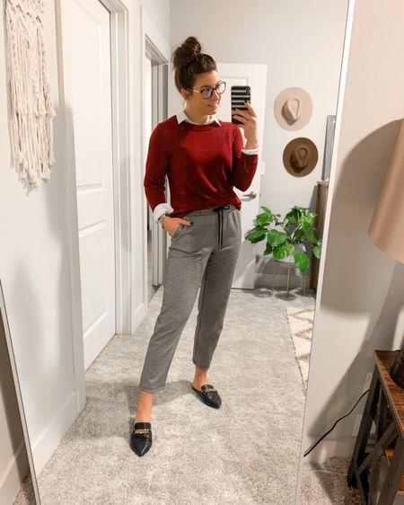 Today's Work Wear Wednesday- comfortable for working at home! -  http://liketk.it/36oWR @liketoknow.it #liketkit #LTKworkwear #LTKunder100 #LTKstyletip