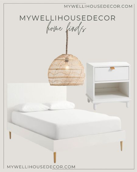 Pottery Barn Warehouse sale! Up to 70% off!   Bed in full size is only $599 and the nightstands $179  #LTKsalealert #LTKhome #LTKSale