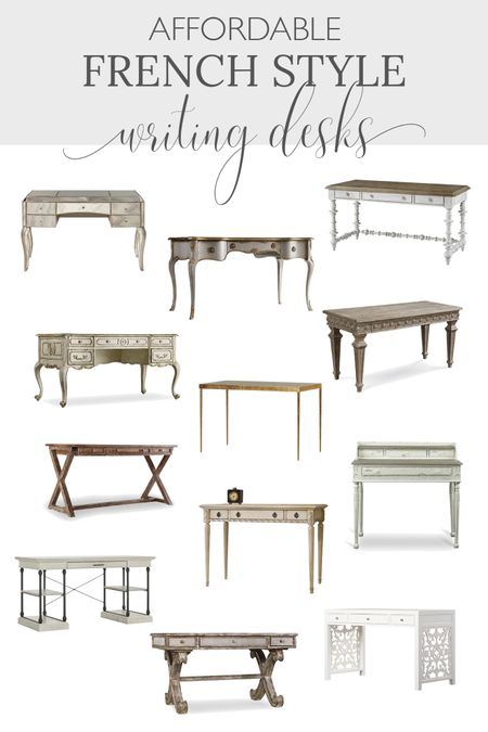 http://liketk.it/3j8Ow #liketkit @liketoknow.it #LTKfamily #LTKstyletip #LTKhome Shop these affordable French country desks!