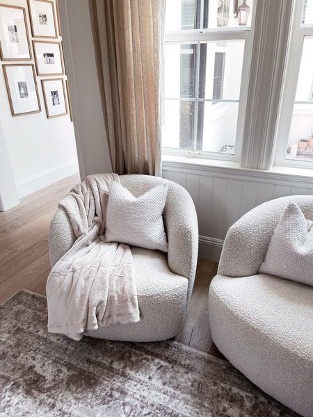 Living room style, comfy home decor, neutral home decor, simple home decor, StylinAylinHome   #LTKhome #LTKstyletip #LTKunder100