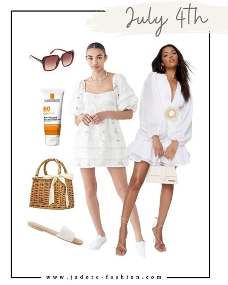 What to wear July 4th weekend and holiday.  #julyfourth summer outfit   #LTKSeasonal #LTKunder100 #LTKstyletip