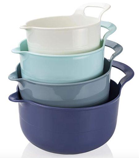 Kitchenware,  mixing bowls, blue kitchen, coastal kitchen    #LTKsalealert #LTKunder100 #LTKhome