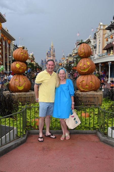 Boo Bash at the Magic Kingdom keeping cool in a cotton dress and loving my Stoney Clover Lane tote and fairies patches.  . #ltkdresses #stoneycloverlane #disneystyle  #LTKstyletip #LTKSeasonal #LTKunder50
