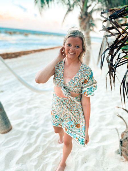 Loved this dress for our trip to Mexico 🌴🌼  #LTKunder50 #LTKtravel #LTKfit
