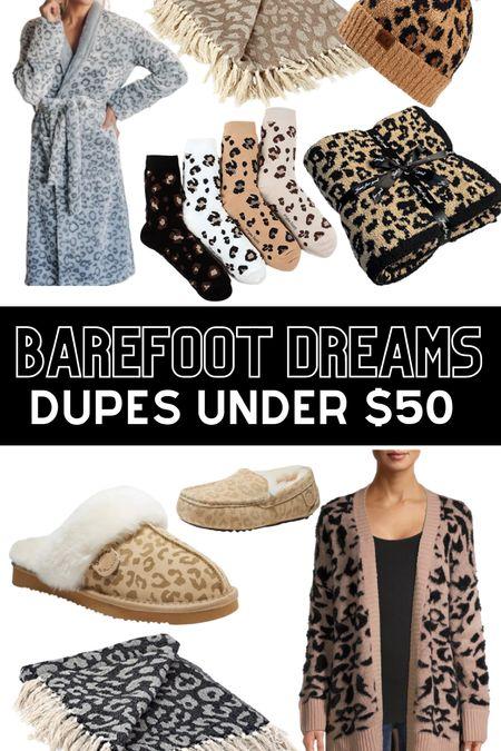 Barefoot dreams dupes gift guide is live.    #LTKGiftGuide #LTKHoliday #LTKunder50