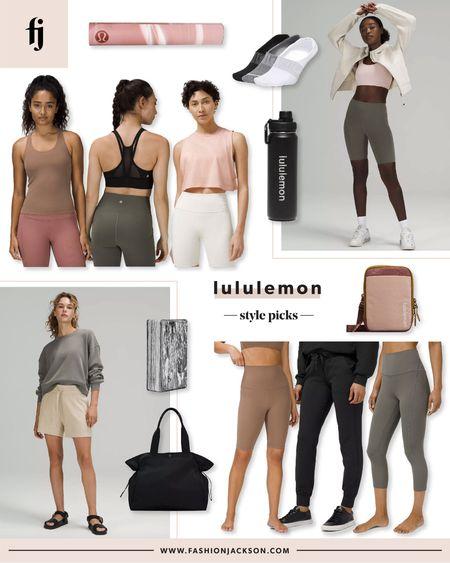 Lululemon fitness picks #workout #activewear #loungewear #athleisure #fashionjackson  #LTKunder50 #LTKunder100 #LTKfit