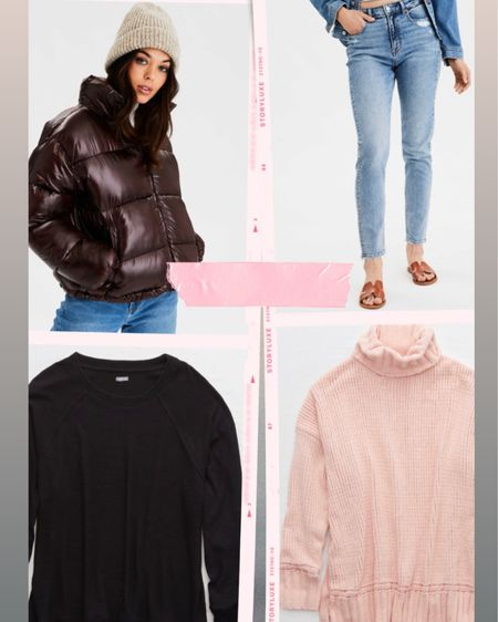 American Eagle + Aerie Deals — I wear size 2 in jeans & size small in sweaters (size up to medium for oversized). http://liketk.it/2IDH4 #liketkit @liketoknow.it