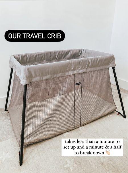 travel crib, travel cot, baby bjorn, travel baby crib 🤍  #LTKtravel #LTKbaby