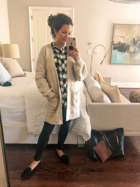 This oversized cardigan can be used to keep you warm on those chilly mornings. It's actually pretty thick and soft! You can get yours at #walmartfashion #sponsored #wedressamerica http://liketk.it/2FV0N #liketkit @liketoknow.it #LTKunder50 #LTKsalealert #LTKbeauty #LTKtravel