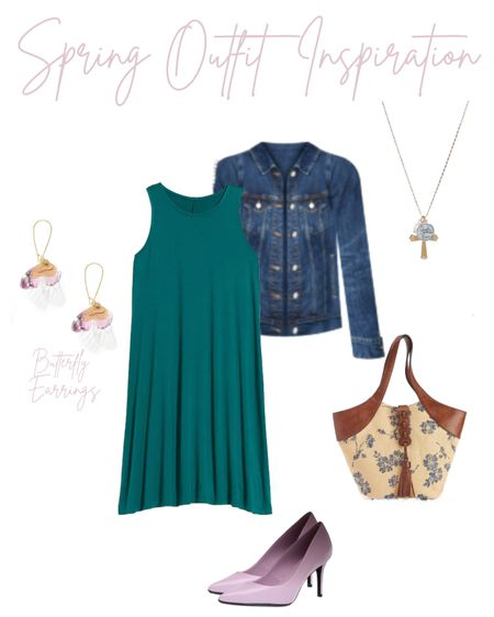 Pretty spring outfit inspiration.   #LTKshoecrush #LTKstyletip #LTKitbag