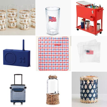 Affordable red, white and blue outdoor finds  http://liketk.it/3fR2b #liketkit @liketoknow.it