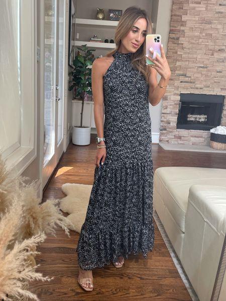 Maxi dress perfect for weddings size xxs   #LTKunder50 #LTKwedding #LTKunder100