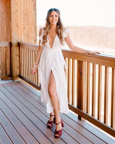 Bride to be bridal shower outfit .. gorgeous white crochet boho dress   http://liketk.it/3cIwC #liketkit @liketoknow.it @liketoknow.it.brasil @liketoknow.it.europe @liketoknow.it.family @liketoknow.it.home #revolve  #LTKshoecrush #LTKwedding #LTKunder100