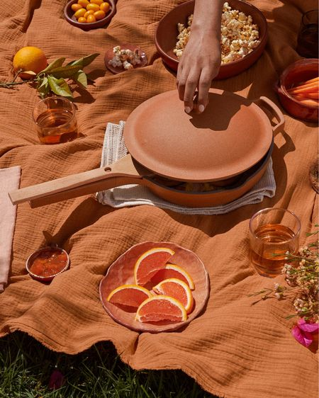 My favorite pan now comes in terracotta!!! The prettiest pan for cooking   Kitchen essentials  Always pan   http://liketk.it/3cU5y #liketkit @liketoknow.it #LTKhome