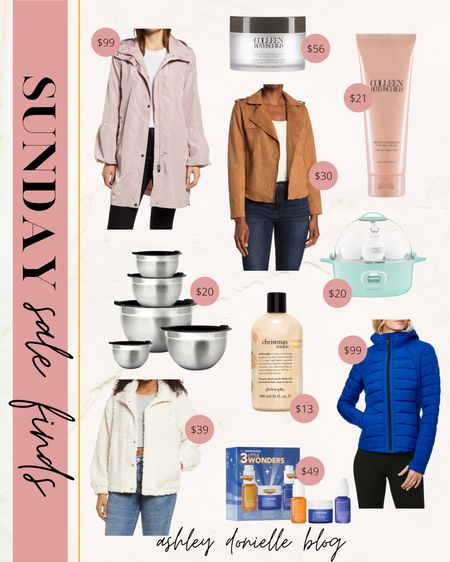 Sunday sale finds - puffer jacket, Colleen Rothschild, mixing bowls and more!   #LTKsalealert #LTKstyletip #LTKSeasonal