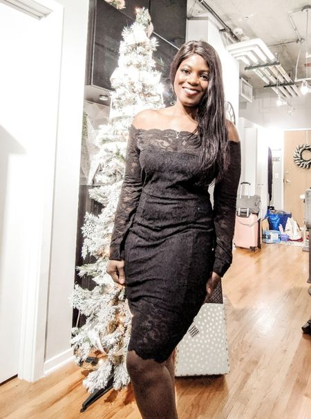 This dress is little longer than expected, but perfect for a work party or nice dinner out!   http://liketk.it/2HRtO @liketoknow.it #liketkit #ltkunder50 #amazon #dress #cocktail #party #nye #holiday