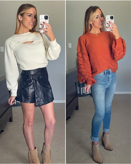Labor Day Sales anyone?! 😍 30% off site wide is happening right now! Pink Lily Sweater Faux leather  Skort    #ldw #laborday #labordaysale #sweater #sweaterweather #skort #fauxleather #affordablefashion #bloggerstyle #pinklily #pinklilystyle #ltkunder50 #ltkfashion #ltkstyletip  Follow my shop on the @shop.LTK app to shop this post and get my exclusive app-only content!  #liketkit #LTKsalealert #LTKunder50 #LTKSeasonal @shop.ltk http://liketk.it/3nb6I  #LTKsalealert #LTKunder50 #LTKSeasonal