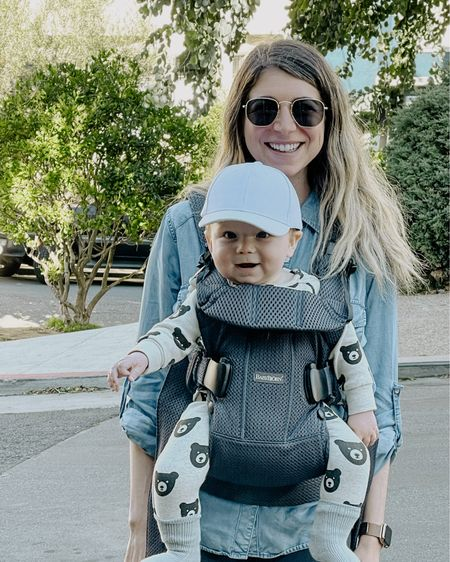 Perfect structured carrier for baby! http://liketk.it/36rPx #liketkit @liketoknow.it