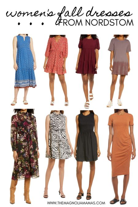 Loving these fall dress options from Nordstrom. Especially when they are all under $100! ✨  #LTKunder100 #LTKsalealert #LTKstyletip