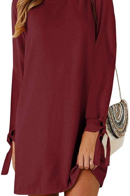 Holiday dress ♥️ Amazon casual dresses, casual fall dresses, sweater dresses, trendy fall dresses, party guest dresses, casual dresses, fall dresses @shop.ltk #liketkit #founditonamazon @amazonfashion 🤍 Thanks for being here & shopping with me! 🥰 Xox Christin  #LTKstyletip #LTKshoecrush #LTKcurves #LTKitbag #LTKsalealert #LTKwedding #LTKfit #LTKunder50 #LTKunder100 #LTKstyletip #LTKGiftGuide #LTKHoliday #LTKSeasonal