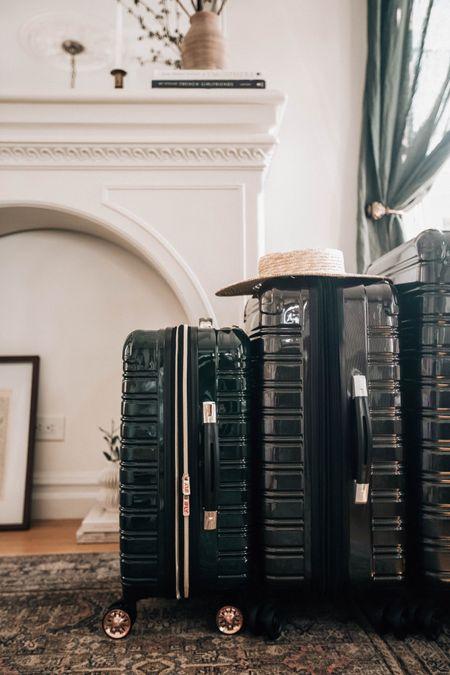 Luggage set and travel essentials from @walmart #ad #walmarthome   #LTKunder100 #LTKsalealert #LTKtravel