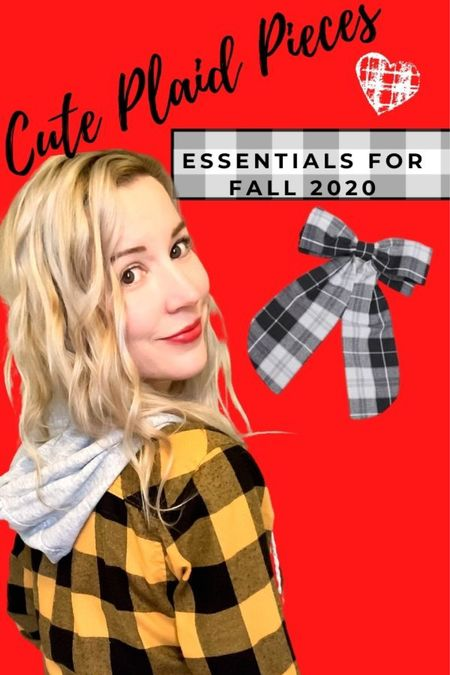 Gimme all the plaid pieces this fall!   #LTKunder100 #LTKstyletip #LTKFall