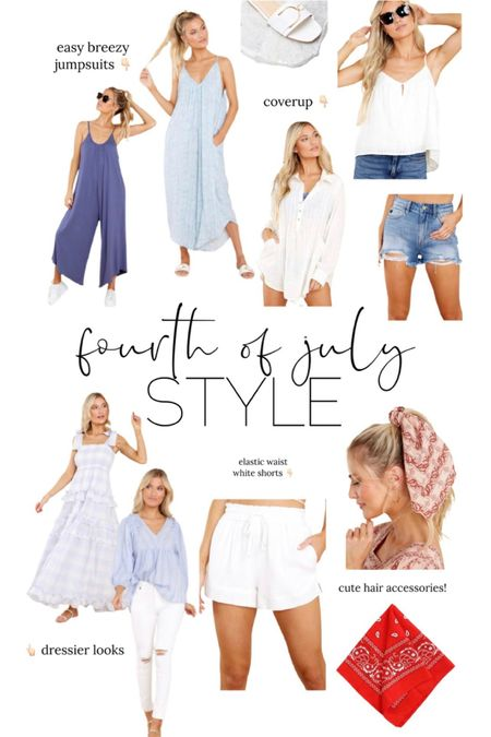 Fourth of July style // summer outfit // red // white // blue // dress // http://liketk.it/3ieku @liketoknow.it #liketkit #LTKunder50 #LTKstyletip #LTKunder100