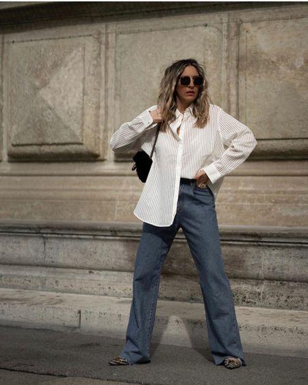 http://liketk.it/2NThG #liketkit @liketoknow.it Casual Oversize Look, Casual Look, Oversize, Wide Jeans