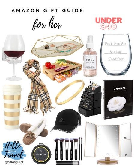 Gift Guide for Her 🎁 Gifts for her. Christmas gifts. Gift guide. Holiday gift guide. Beauty finds. Amazon gifts. @liketoknow.it @liketoknow.it.family @liketoknow.it.home http://liketk.it/31e1F #liketkit #LTKgiftspo #LTKhome #LTKunder50