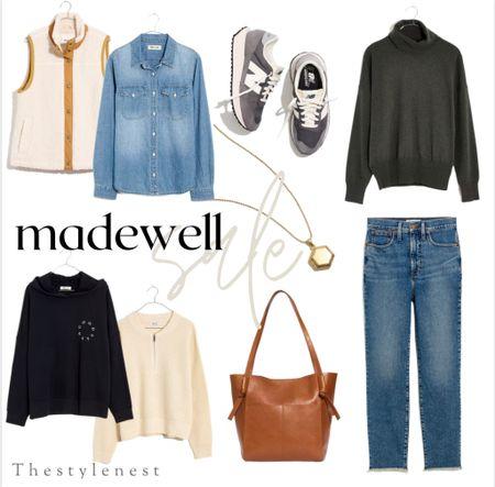 Madewell Sale #falloutfits #fallsale #fallfashion #denim #totebag #neutralfashion #falloutfitideas   #LTKSale #LTKsalealert #LTKSeasonal