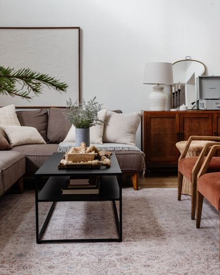 California Casual + Parisian + Modern Farmhouse Living Room by Peggy Haddad Interiors. Neutral Organic Textured home decor and styling. Neutral and warm living room furniture and decor. http://liketk.it/34fc8 #liketkit @liketoknow.it #LTKunder100 #StayHomeWithLTK @liketoknow.it.home