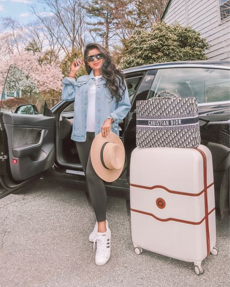 So excited to be vacation bound ✈️ Follow along my stories for the fun! Let the hot girl summer trip begin 🙌🏽🎉 . . Shop my @delseyofficial luggage below 🧳  1️⃣ http://liketk.it/3dt29  2️⃣ link in bio #liketkit #LTKunder100 #LTKstyletip #LTKsalealert @liketoknow.it Shop my daily looks by following me on the LIKEtoKNOW.it shopping app