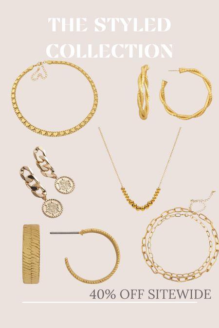 The Styled Collection- 40% off Sitewide.   #LTKSale #LTKsalealert #LTKstyletip